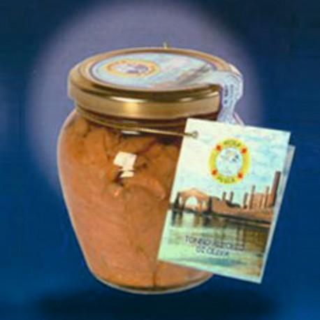 Filetti di Tonno Rosso in olio oliva 300 gr