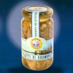 Filetti di Sgombro in olio di oliva 300 gr
