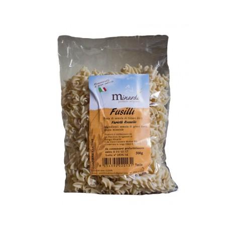 """Fusilli di grano duro antico  """"RUSSELLO"""" 500 gr"""