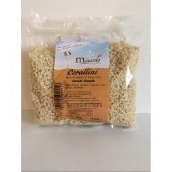 """Corallini di grano duro antico """"RUSSELLO"""" 500 gr"""